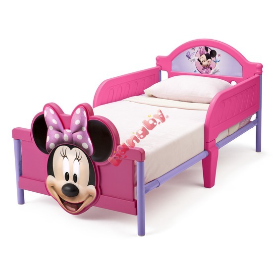 copii pat Minnie Mouse 2