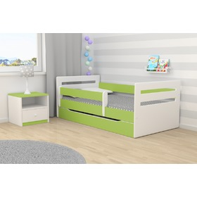 Ourbaby copii pat Tomi - verde, All Meble