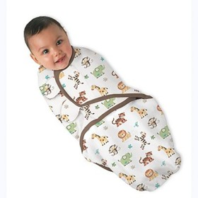 wrap - bumbac - Swaddleme, Summer Infant