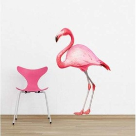 Autocolant de perete – model FLAMINGO