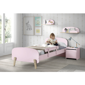 Noptieră KIDDY – roz, VIPACK FURNITURE