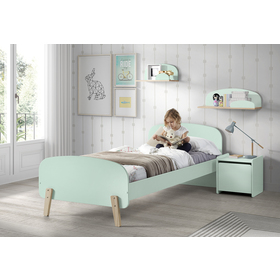 Noptieră verzulie – Kiddy, VIPACK FURNITURE