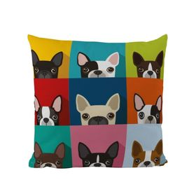 Butter Kings Pillow Bulldog - multicolor
