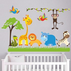 Stickere de perete - Safari, Housedecor
