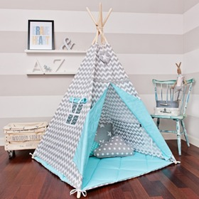 teepee magic turcoaz, funwithmum