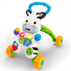 Antepremergator cu activitati Zebra- Fisher Price , Fisher Price