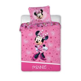 Lenjerie de pat Minnie Mouse - Inimi și funde, Faro, Minnie Mouse