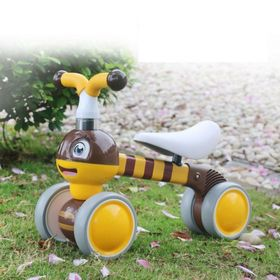 Baby Bouncer Bee - galben-maroniu, EcoToys