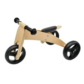 Tricicletă din lemn Trike 2in1, Ourbaby